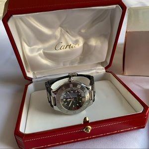 Cartier Autoscaph 21 Must de Cartier 2427 Watch